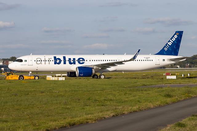 A321-251NX, AirBlue, D-AZAQ, AP- (MSN 9560)