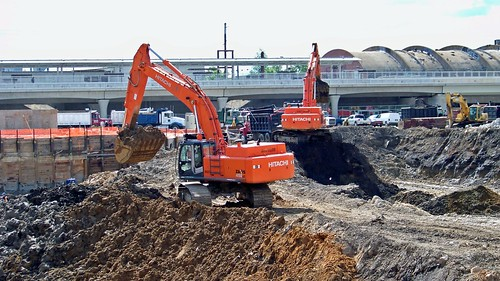 Excavation for office building construction [01] | by SchuminWeb