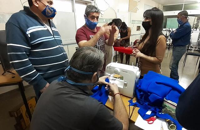 2020-09-25 DESARROLLO HUMANO: Capacitación a residentes del Hogar Papa Francisco