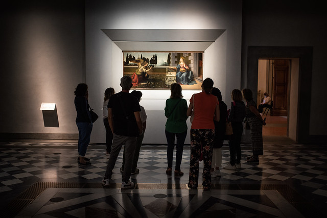 The Uffizi Gallery in Florence // Trip to Toscany Italy