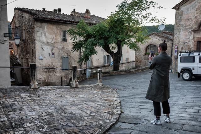Sarteano // Trip to Toscany Italy