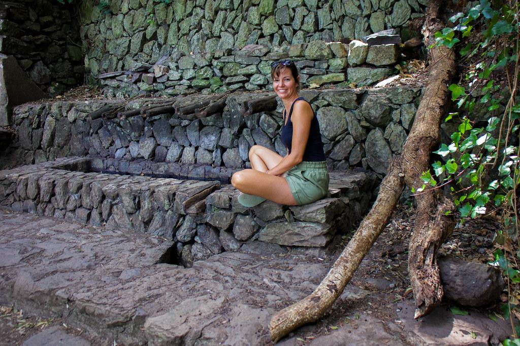 Estanque de los Chorros de Epina en La Gomera