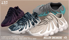 VERSOV// ] HELLOV sneakers available at Uber sl