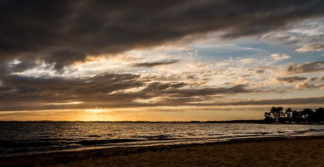 Un soir sur la plage ...