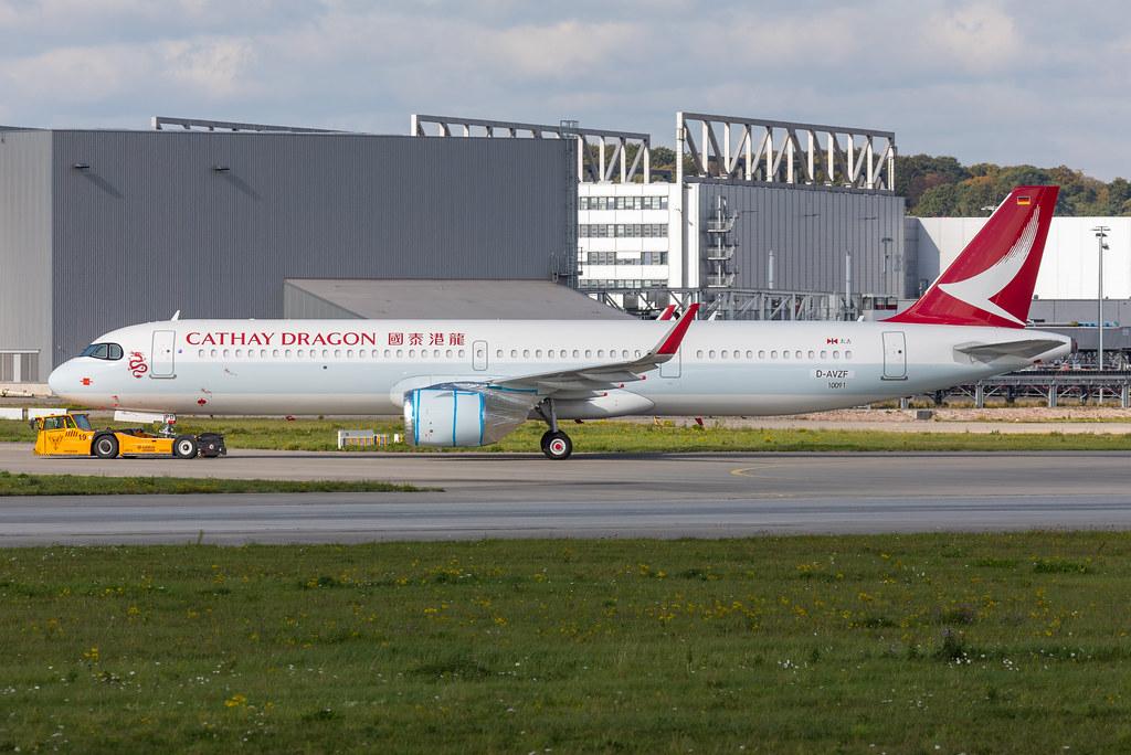 A321-251NX, Cathay Dragon, D-AVZF, B-HPD (MSN 10091)