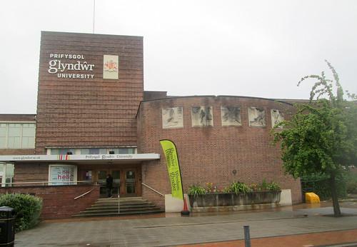 Glyndwr University, Wrexham, Entrance
