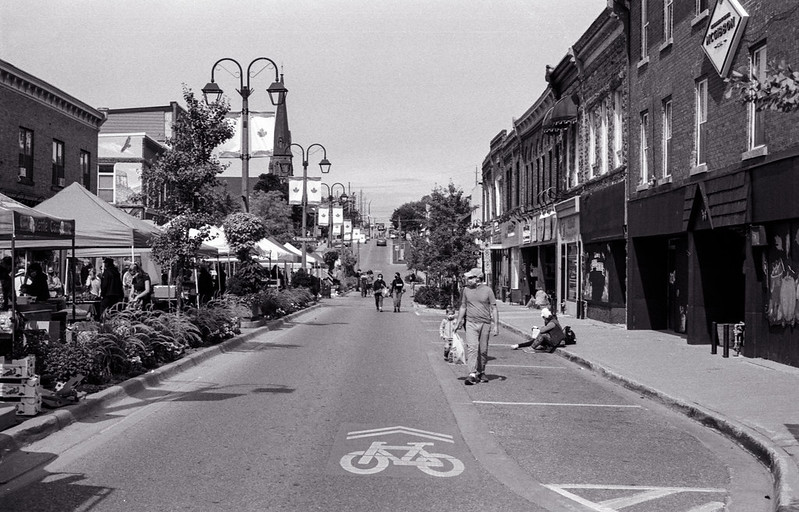 Looking North On Main St._