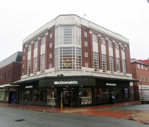 Art Deco, McDonald's, Wrexham