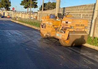 asfalto lavori