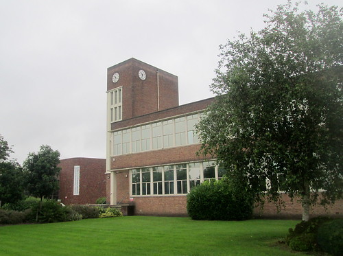 Art Deco Tower and Clock, Glyndwr University, Wrexham
