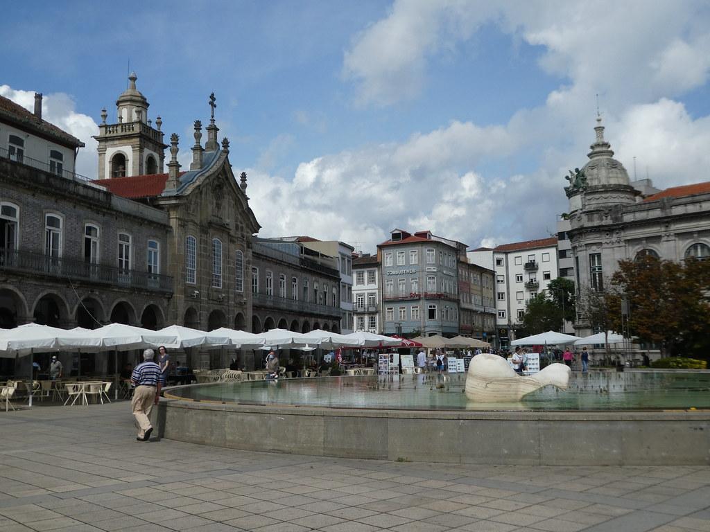 Praça da Republica, Braga