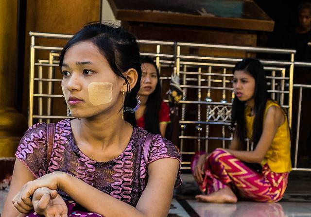 Pensive in Yangon