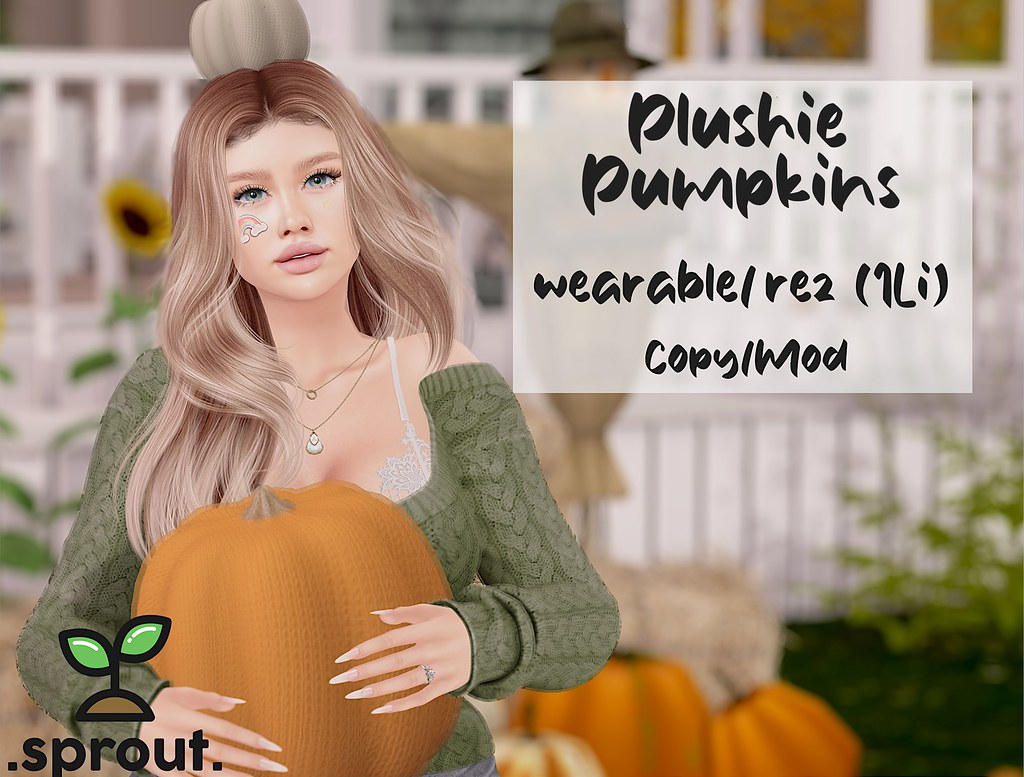 .sprout. plushie pumpkins