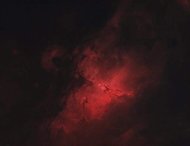 M16-Eagle Nebula - HOO - Starless - Explored September 26, 2020