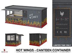 NEW! Hot Wings Container @ Bad Unicorn Mainstore