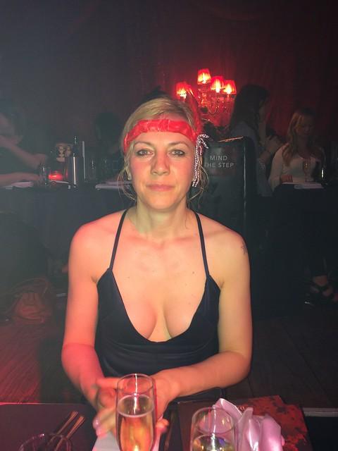 At burlesque club, read description for story