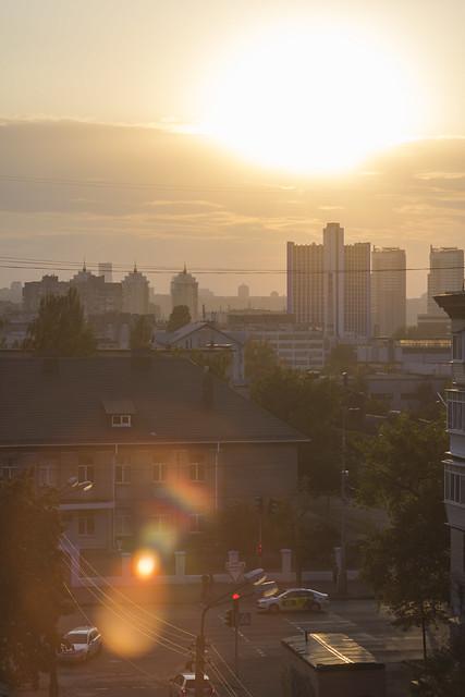 Kyiv. View from my window