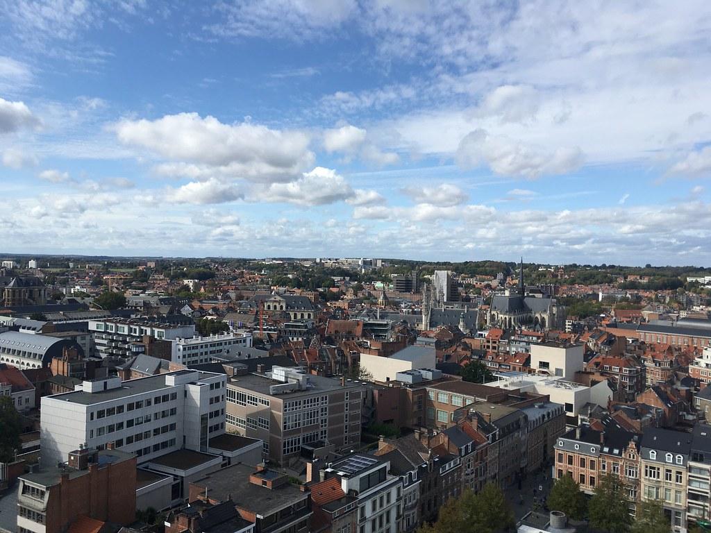Vistas desde la torre en la Biblioteca Universitaria