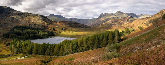 Blea Tarn and the Langdale Pikes [Explored 26/9/20]