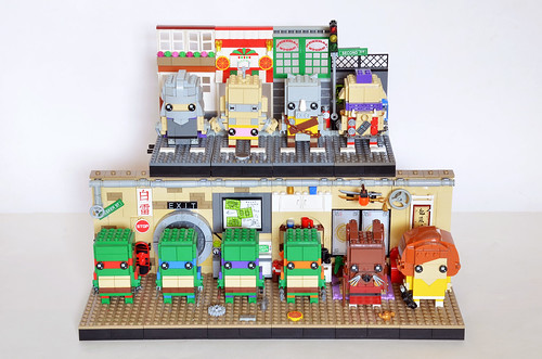 TMNT Brickheadz Display