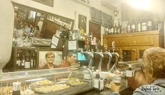 Bar antigua de Madrid, bodega de la Ardosa.