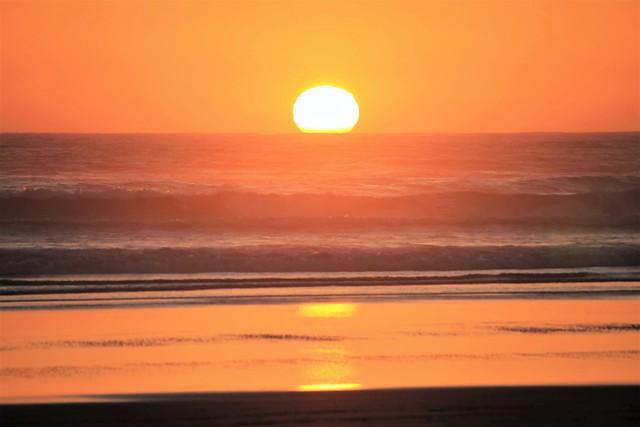 Orange, West Coast Waves