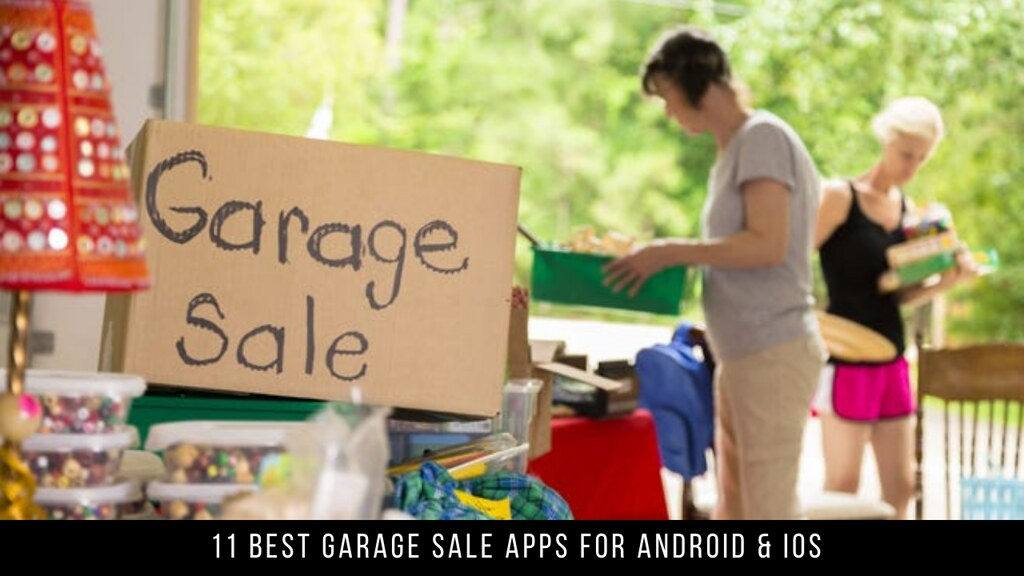 11 Best Garage Sale Apps For Android & iOS