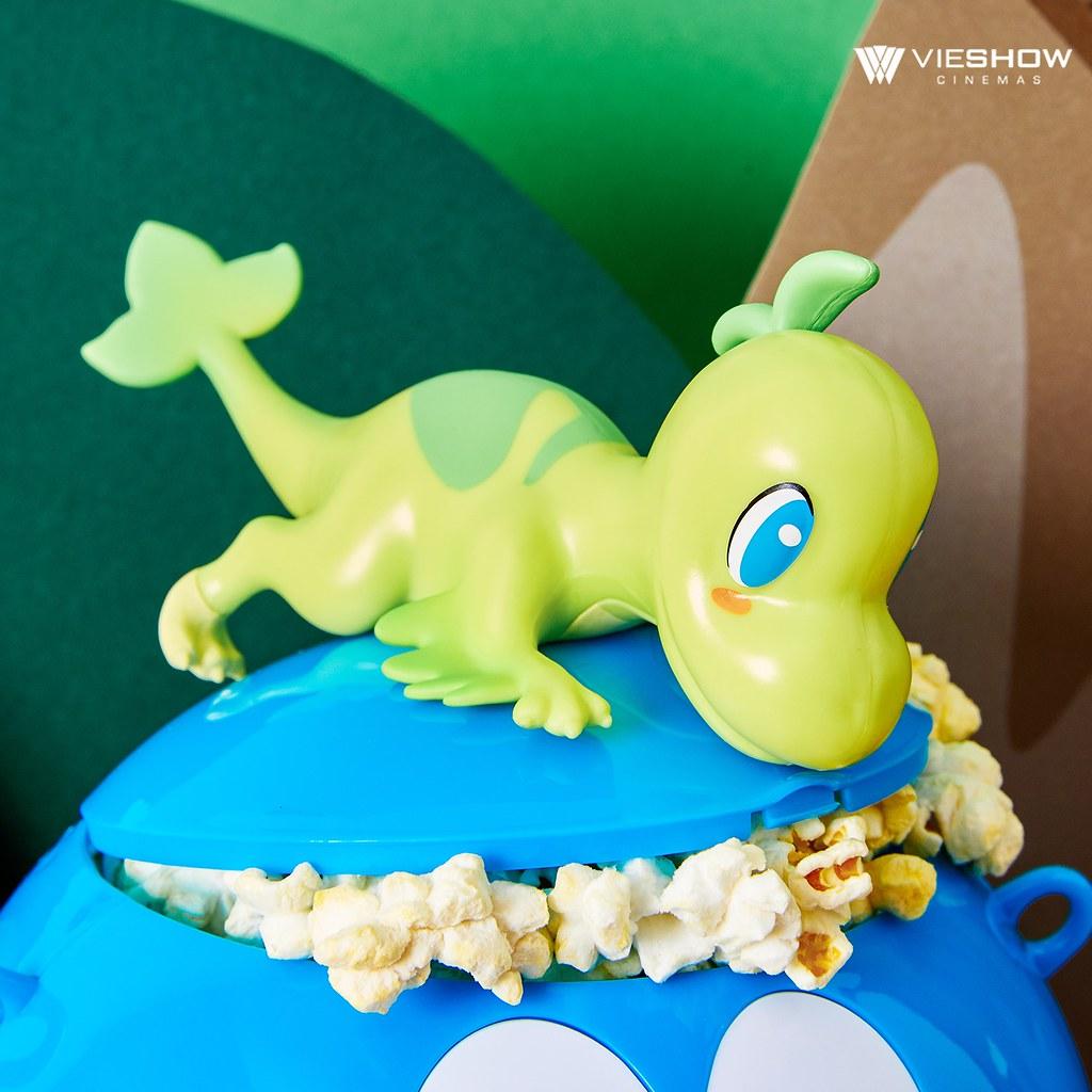 威秀影城《哆啦A夢:大雄的新恐龍》哆啦A夢造型爆米花桶&探險造型杯 限量開賣!