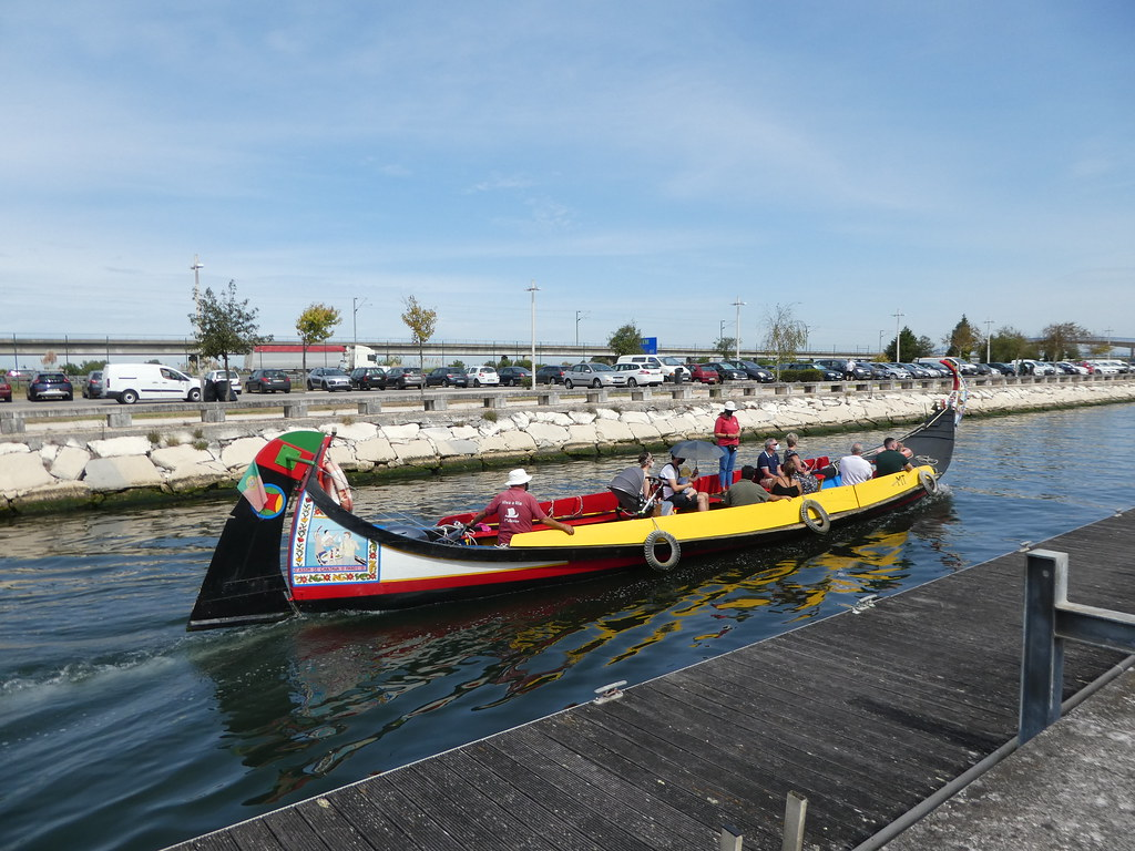 Moliceiros canal boats, Aveiro