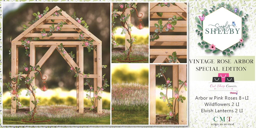 Simply Shelby Vintage Rose Arbor Pink – Special Edition