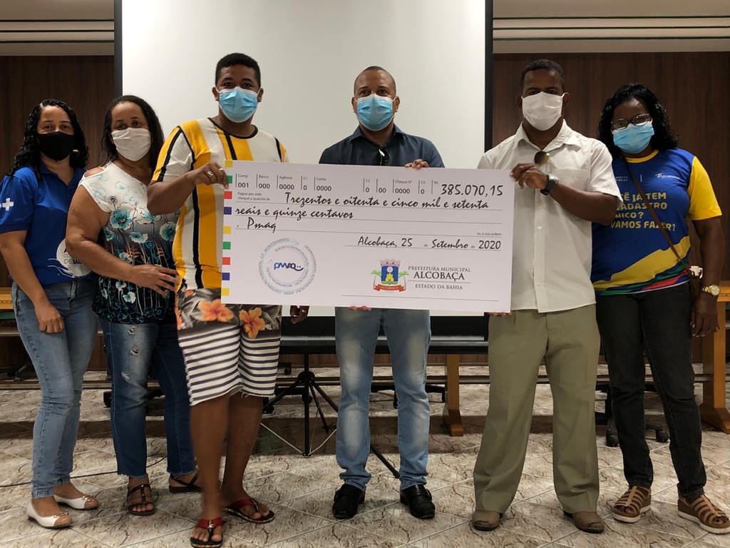 Pagamento da gratificação do PMAQ-AB aos profissionais de saúde do município de Alcobaça (3)
