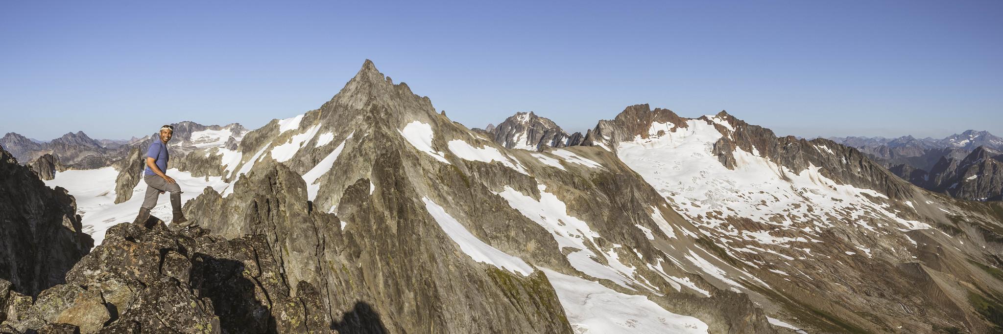 Kodak moment panoramic view on Mount Torment