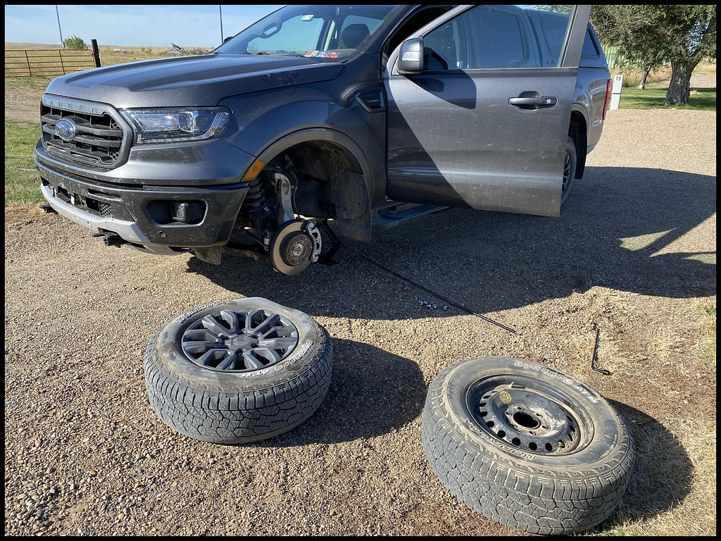 9-25-20 - Another flat tire