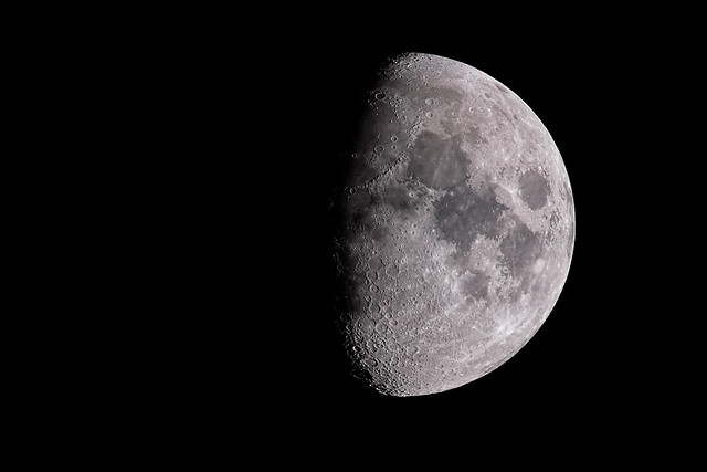 September 25th Moon (Waxing Gibbous phase)