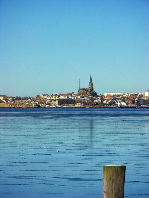Gullmarn by winter