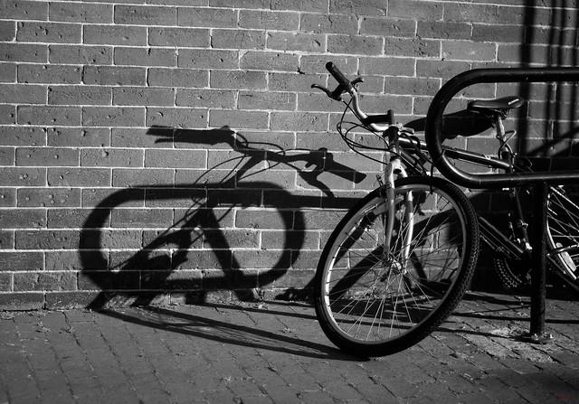 Bike & Shadow