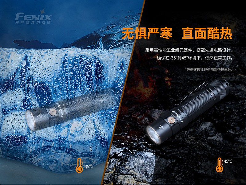 FENIX E35 V3.0 3000流明 超亮便攜EDC手電筒  -9