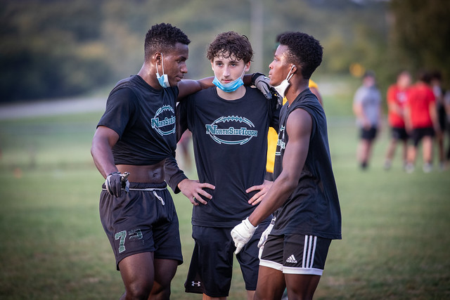 Football Teams Gather for 7 on 7 Tourney