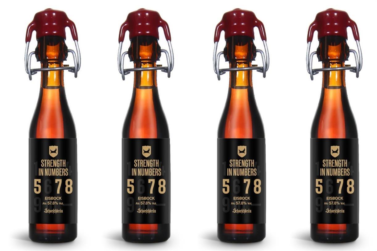 BrewDog и Schorschbräu сварили самое крепкое пиво в мире