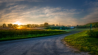 Sunrise on Alpers Road | by downstreamer