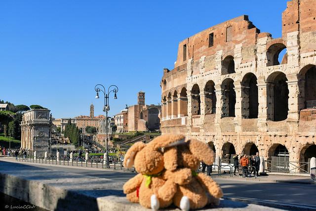 Coliseo Roma- Arco de Constantino- Templo de Venus y Roma -- Antiquarium Forense - Via Sacra