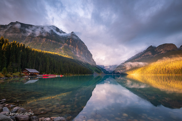 Lake Louise - what a difference the sun makes! D85_4540.jpg