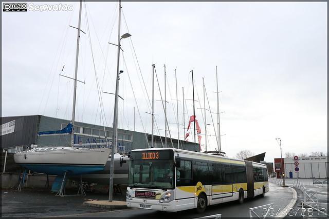 Irisbus Citélis  18 – RTCR (Régie des Transports Communautaires Rochelais) / Yelo n°337
