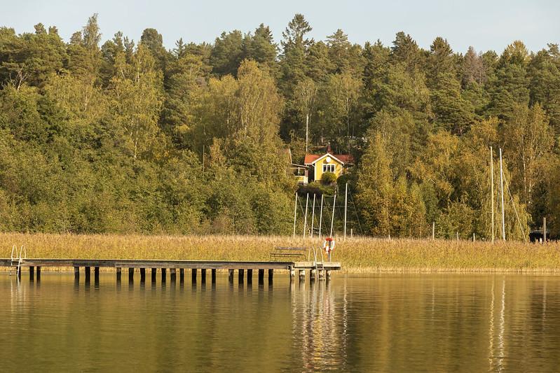 Autumn at Östnora
