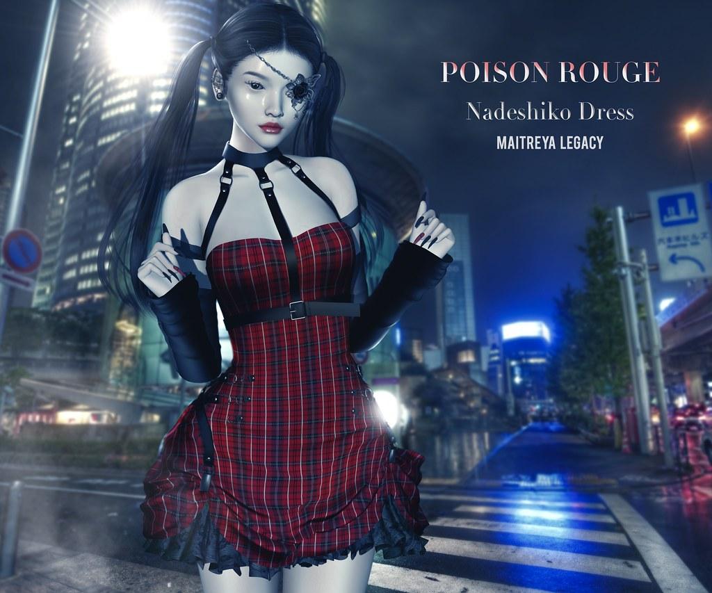 POISON ROUGE Nadeshiko Dress @NEO-JAPAN