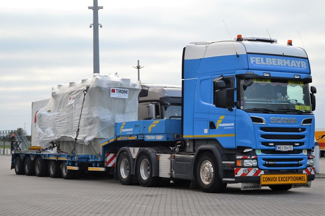 Scania R 580 V8 - Felbermayr - A  WE  194 FE