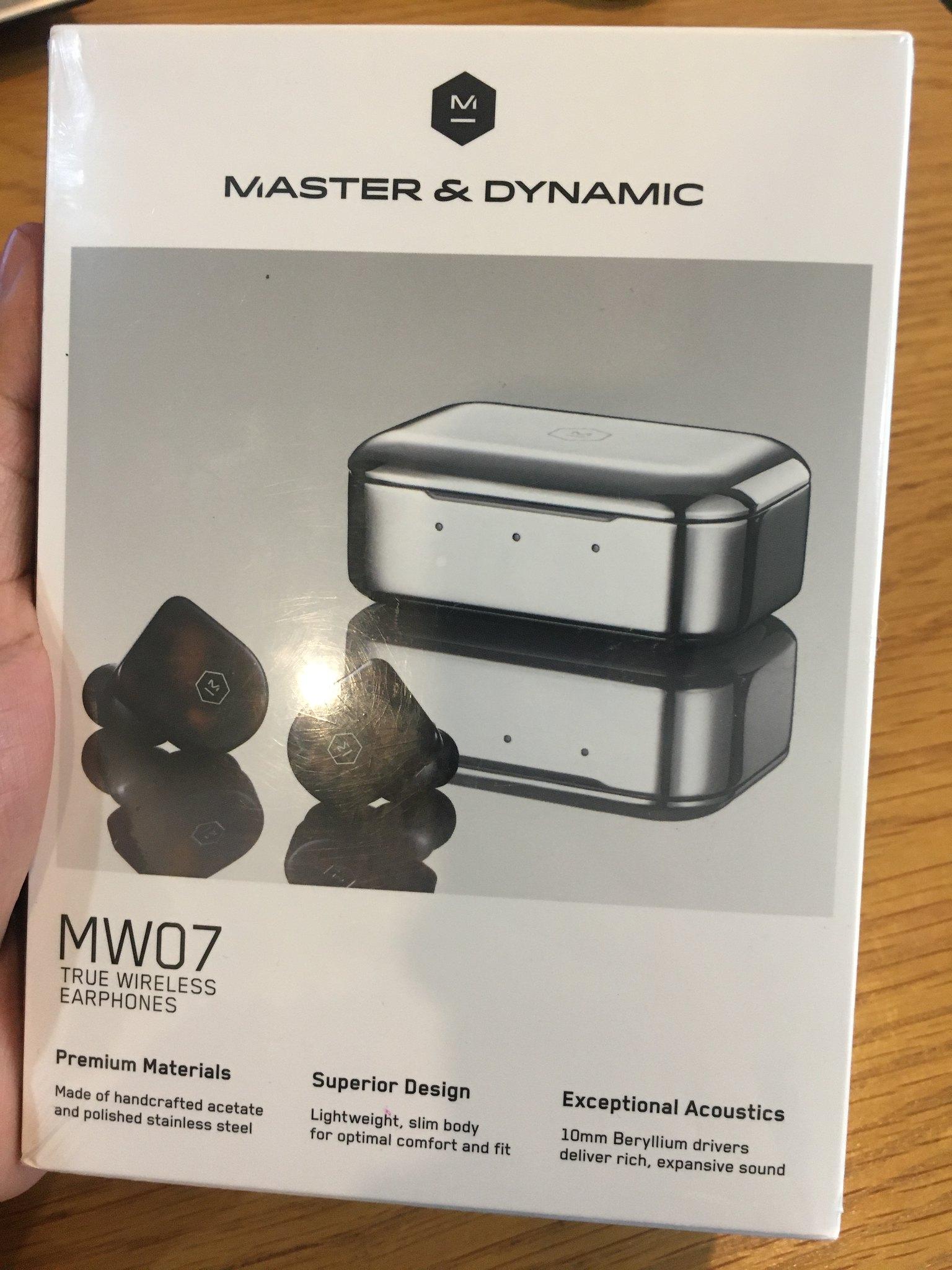 Tai nghe Master & Dynamic MW07 True Wireless