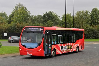Go North East Black Cats 5463 / NK17 GHO