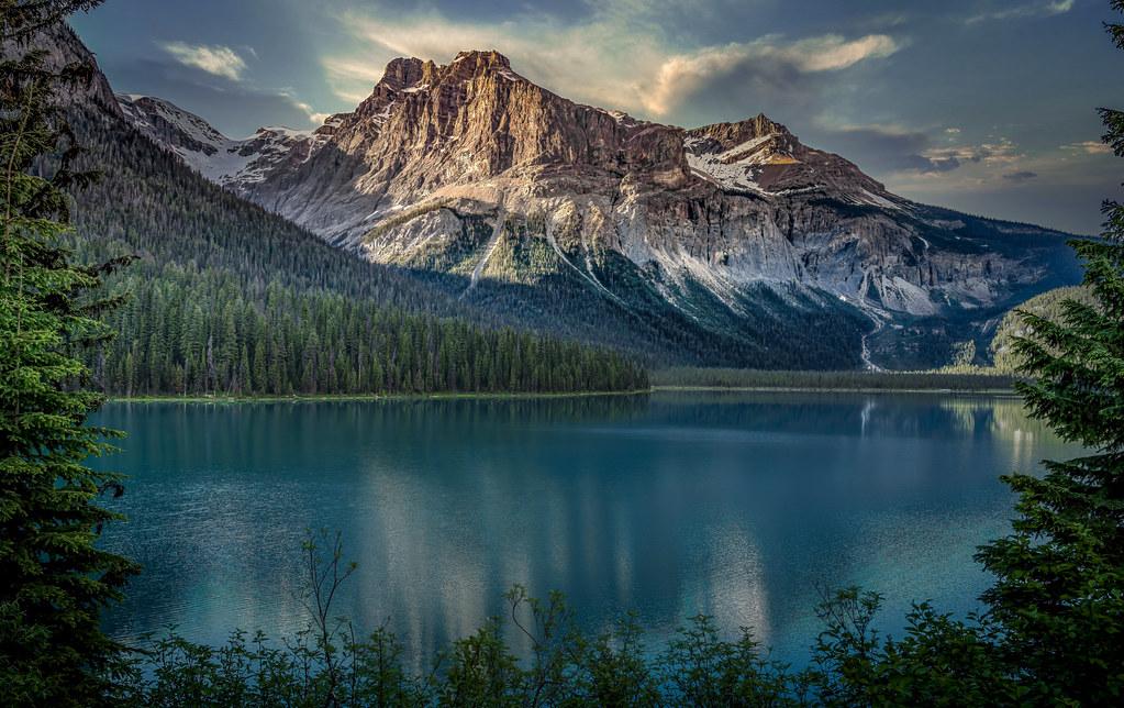 Emerald Lake at Dawn -- Raw Beauty