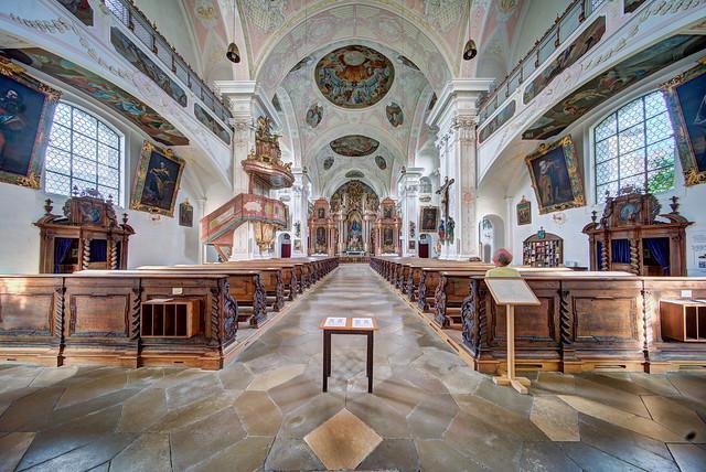 Pielenhofen, ehem. Klosterkirche, Pfarrkirche St. Maria